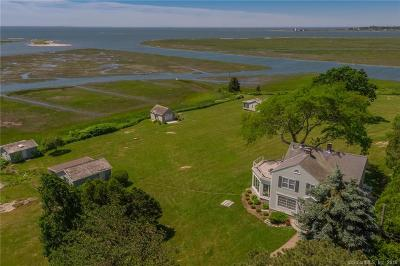 Old Lyme Single Family Home For Sale: 47 & 47-1 Smiths Neck Road