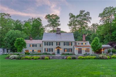 Darien Single Family Home For Sale: 40 Swifts Lane