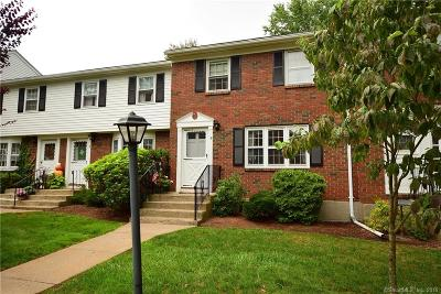 Suffield Condo/Townhouse For Sale: 9 Brandywine Lane #9