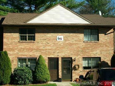 Thomaston Condo/Townhouse For Sale: 143 Pine Hill Road #15D
