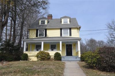 West Hartford Single Family Home For Sale: 1156 Farmington Avenue