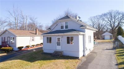 Wolcott CT Single Family Home For Sale: $182,500