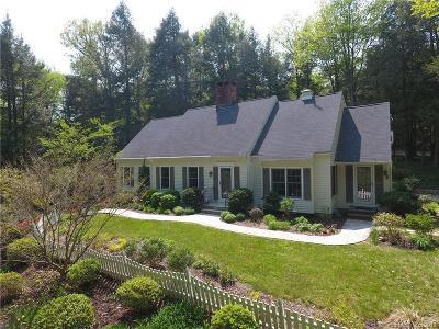 Southbury Single Family Home For Sale: 507 Roxbury Road