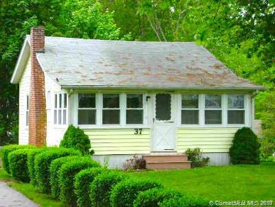 Old Lyme Single Family Home For Sale: 37 Hillcrest Road