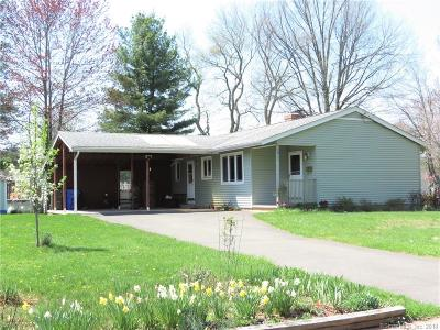 Wethersfield Single Family Home For Sale: 1011 Folly Brook Boulevard