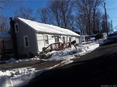 Wolcott CT Single Family Home For Sale: $79,900