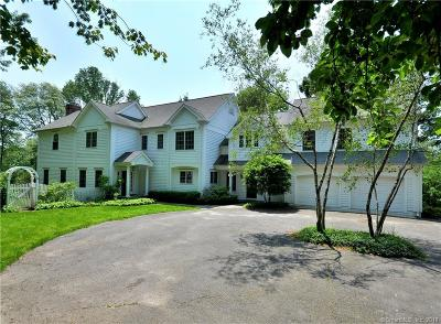 New Canaan Single Family Home For Sale: 438 Country Club Road