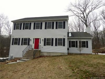 Danbury Single Family Home For Sale: 43 Schoolhouse Drive