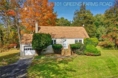 Westport Single Family Home For Sale: 101 Greens Farms Road
