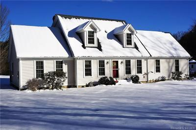 Tolland County, Windham County Single Family Home For Sale: 187 Hydeville Road