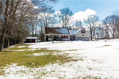 Brooklyn Single Family Home For Sale: 431 Hartford Road