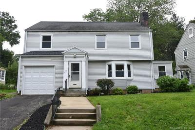West Hartford Single Family Home For Sale: 1152 Trout Brook Drive