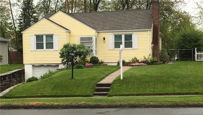 Wethersfield Single Family Home For Sale: 380 Nott Street