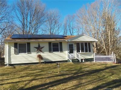 Brooklyn CT Single Family Home For Sale: $159,900