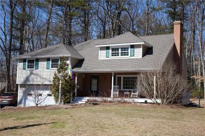 Simsbury Single Family Home For Sale: 28 Wheeler Road