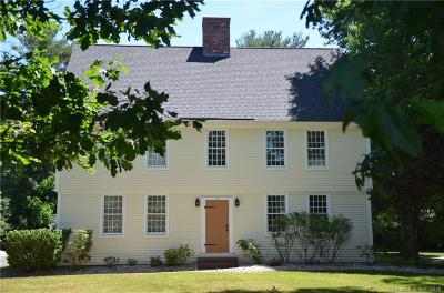 Simsbury Single Family Home For Sale: 6 Avery Way