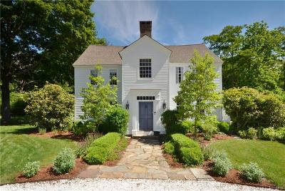 Old Lyme Single Family Home For Sale: 1 Sill Lane