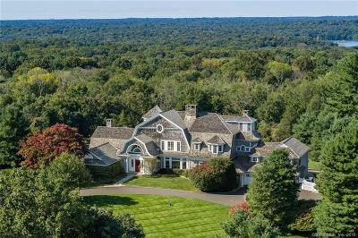 New Canaan Single Family Home For Sale: 84 Turtle Back Road