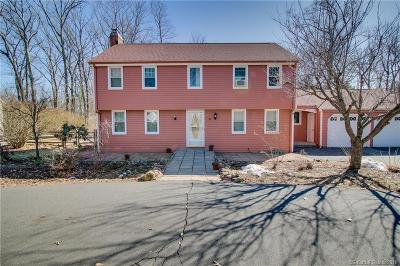 Simsbury Single Family Home For Sale: 8 Crestwood Road