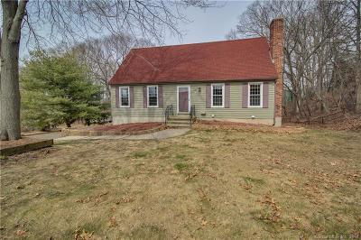 Branford Single Family Home For Sale: 58 Gould Lane