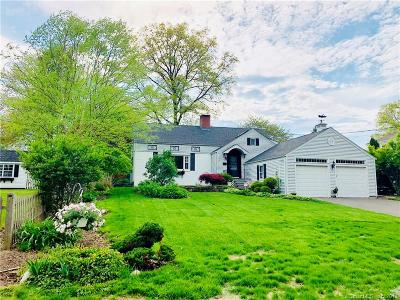 West Hartford Single Family Home For Sale: 139 Montclair Drive