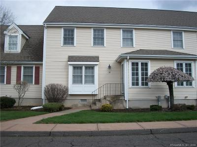 Wethersfield Condo/Townhouse For Sale: 10 Perkins Row #10