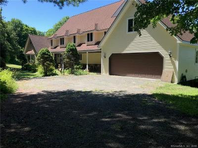 New Milford Single Family Home For Sale: 555 Long Mountain Road