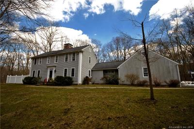 Ridgefield Single Family Home For Sale: 300 Chestnut Hill Road
