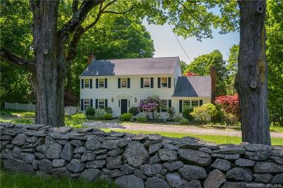 Ridgefield Single Family Home For Sale: 250 West Lane