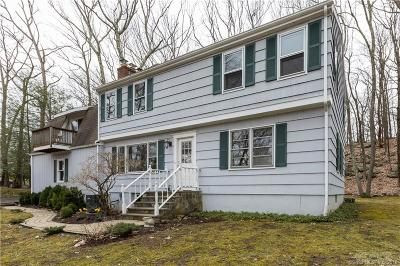 Ridgefield Single Family Home For Sale: 26 Buck Hill Road