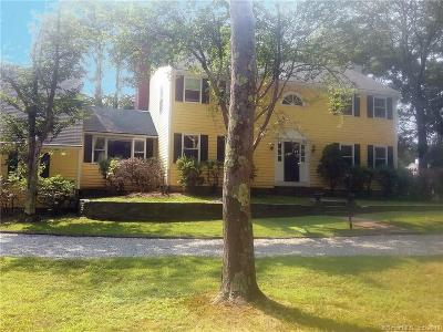 Old Lyme Single Family Home For Sale: 34 Johnny Cake Hill Road