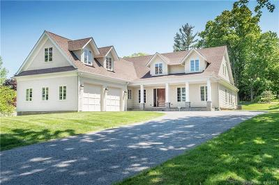 Ridgefield Single Family Home For Sale: 12 Sunset Lane