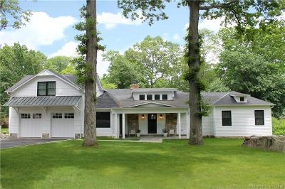 Darien Single Family Home For Sale: 6 East Trail