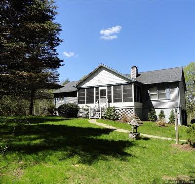 Torrington Single Family Home For Sale: 155 Mountain View Manor
