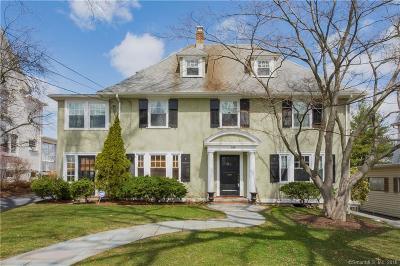 West Hartford Single Family Home For Sale: 298 Fern Street