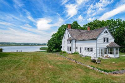 Old Lyme Single Family Home For Sale: 12 & 19 Tantummaheag Road