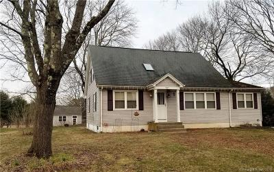 Brooklyn CT Single Family Home For Sale: $199,900