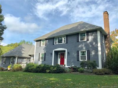 Wallingford Single Family Home For Sale: 1388 Durham Road