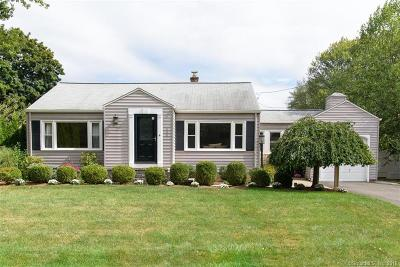 West Hartford Single Family Home For Sale: 218 Trout Brook Drive