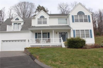 Plainville Single Family Home For Sale: 55 Fawn Drive