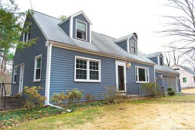 Simsbury Single Family Home For Sale: 91 East Weatogue Street