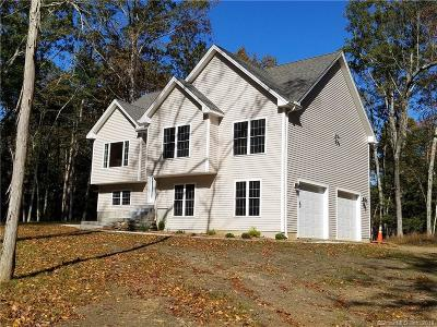 Eastford Single Family Home For Sale: 85 Lake Woods Lane