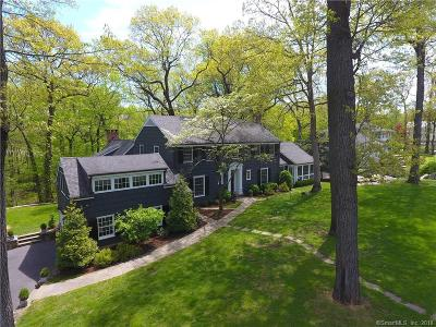 Darien Single Family Home For Sale: 22 Winding Lane