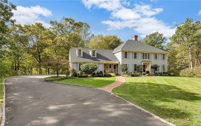 Ridgefield Single Family Home For Sale: 229 Nod Road