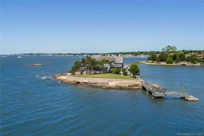 Branford Single Family Home For Sale: Beldens Island