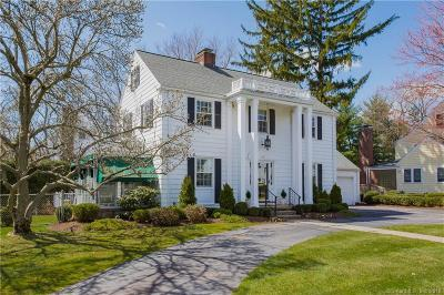 West Hartford Single Family Home For Sale: 39 Sunset Terrace