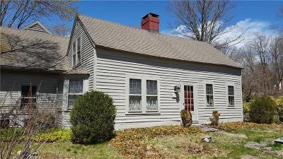 Easton Single Family Home For Sale: 360 Center Road