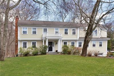 Darien Single Family Home For Sale: 53 Country Club Road