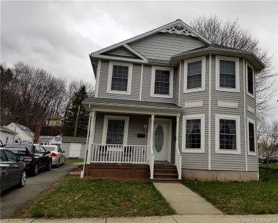 Meriden Single Family Home For Sale: 27 Pasco Street