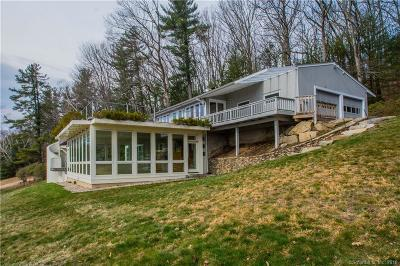 Single Family Home For Sale: 141 West Simsbury Road